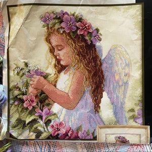 Angel Cross-stitch 🧵